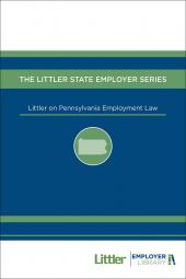 Littler on Pennsylvania Employment Law cover