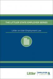 Littler on Utah Employment Law cover