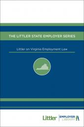 Littler on Virginia Employment Law cover