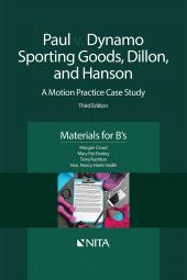 Paul v. Dynamo Sporting Goods, Dillon, and Hanson B's Version cover