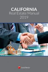 California Real Estate Manual cover