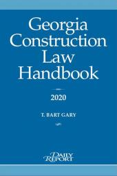 Georgia Construction Law Handbook cover