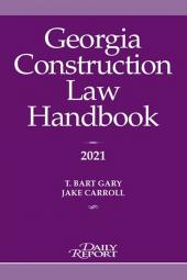 Georgia Construction Law Handbook cover