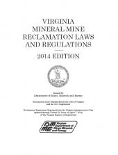 Virginia Mineral Mine Reclamation Laws cover