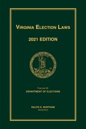 Virginia Election Laws cover