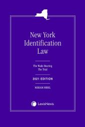 New York Identification Law: The Wade Hearing/The Trial cover