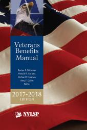 Veterans Benefits Manual (Available in Print or eBook) cover