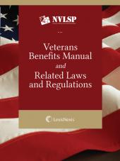 Veterans Benefits Manual and Related Laws and Regulations eBook, 2016 Edition cover