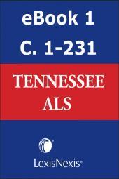 Tennessee Advance Legislative Service cover