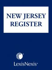 New Jersey Register cover