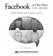 Facebook in One Hour for Lawyers cover