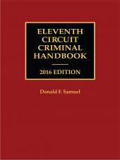 Eleventh Circuit Criminal Handbook cover