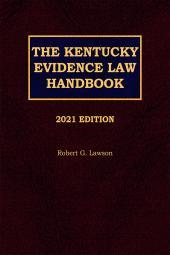 The Kentucky Evidence Law Handbook cover