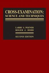Cross-Examination:  Science and Techniques, Second Edition, 2012 Cumulative Supplement cover
