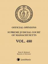 Massachusetts Official Reports, Supreme Judicial Court and Appeals Court Advance Sheets Subscription cover