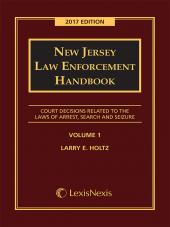 New Jersey Law Enforcement Handbook cover