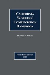 California Workers' Compensation Handbook cover