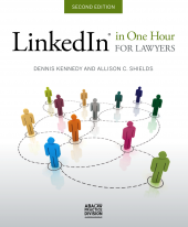 Linkedin In One Hour for Lawyers cover