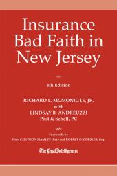 Insurance Bad Faith in New Jersey cover