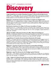 Mealey's Litigation Report: Discovery cover