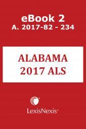 Michie's Alabama Advance Legislative Service cover
