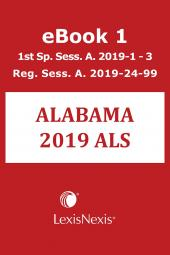 Michie's Alabama Advance Legislative Service cover