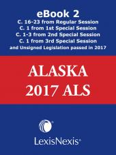 Alaska  Advance Legislative Service cover