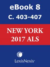 New York CLS Advance Legislative Service cover