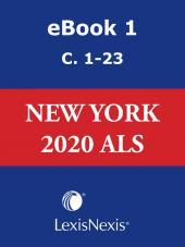 New York CLS Advance Legislative Service cover