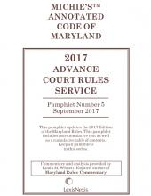 Maryland Advance Court Rules Service cover