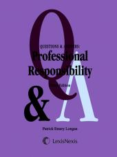 Questions & Answers: Professional Responsibility, Third Edition (2012) cover