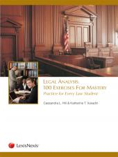 Legal Analysis: 100 Exercises for Mastery, Practice for Every Law Student  cover