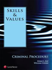 Skills & Values: Criminal Procedure (2012) cover