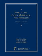 Family Law: Cases, Materials and Problems, Third Edition, 2012 cover