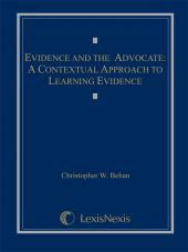 Evidence and the Advocate: A Contextual Approach to Learning Evidence (2012) cover