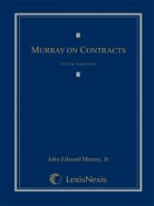 Murray on Contracts, Fifth Edition, 2011 cover