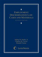 Employment Discrimination Law: Cases and Materials cover