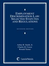 Employment Discrimination Law: Selected Statutes and Regulations, Document Supplement cover