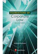 Foundations of Corporate Law cover