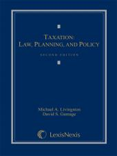 Taxation: Law, Planning, and Policy, Second Edition, 2010 cover