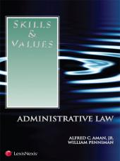 Skills & Values: Administrative Law  cover
