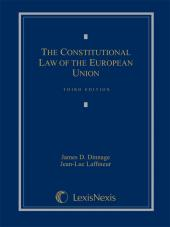 Constitutional Law of the European Union, Third Edition (2012) cover