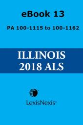 Illinois Compiled Statutes Annotated Advance Legislative Service cover