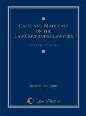 Cases and Materials on the Law Governing Lawyers cover