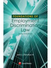 Foundations of Employment Discrimination Law, Second Edition cover