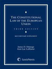 Constitutional Law of the European Union; Documentary Supplement 2012 cover