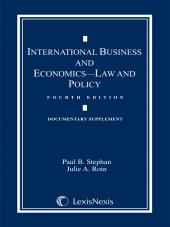 International Business and Economics: Documentary Supplement, Fourth Edition, 2010 cover