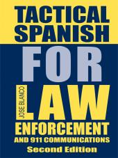 Tactical Spanish for Law Enforcement cover