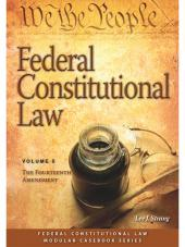 Federal Constitutional Law: The Fourteenth Amendment (Volume 5) cover