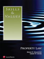 Skills & Values: Property Law cover